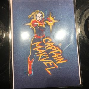 Lovepop Captain Marvel Card